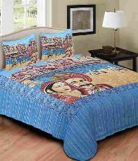 Rajasthani Scenery Printed Bedsheets