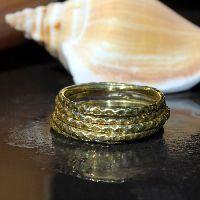 Brass Stack Ring