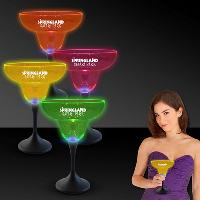 Neon Led Margarita Glasses