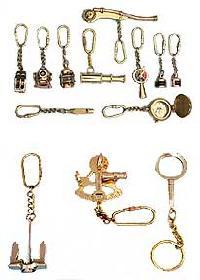 Brass Keychain