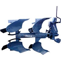 Hydraulic Mechanical Slow Reversible Plough