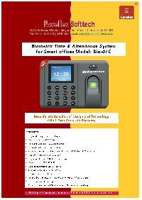Biometric Attendance System Bio-07c
