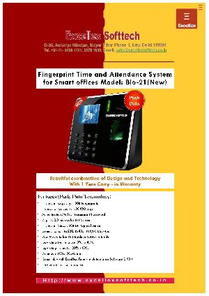 Biometric Fingerprint Attendance System Bio-21