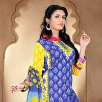 Fancy Designer Cotton Salwar Suit
