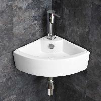 Small Corner Wash Basin