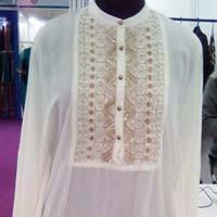 Polyester Embroidered Designer Kaftan