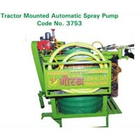 Tractor mounted Automatic Spray Pump