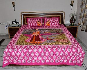 Decorative Printed Cotton Bed Spreads
