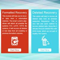 Lumin's Windows Data Recovery Software