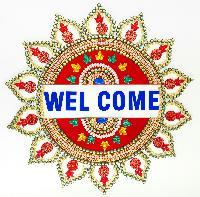 Welcome Diwali Rangoli