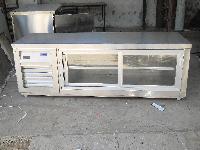 Horizontal Sliding Door Refrigerator