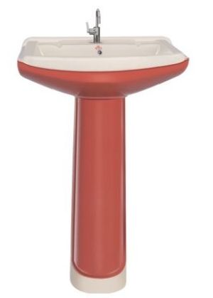 Dutone Series Pedestal Wash Basins