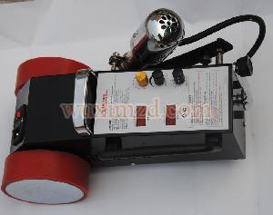 banner hot air seam machine for plastic welding