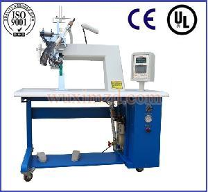 CH-2 hot air seam sealing machine for waterproof jackets tape welding