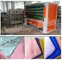 China Ultrasonic washcloth slitting machine