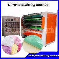 Fabric cloth automatic ultrasonic slitting machine