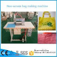 Factory sale pp woven shopping bag sewing machine