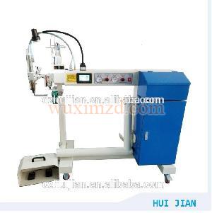 hot air seam sealing machine for plastic