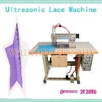 non woven ultrasonic lace sewing machine