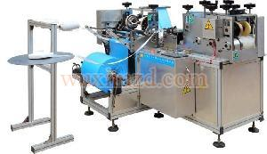 PE / PVC automatic shoes cover making machine for sale