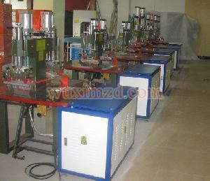 Pedal Double Head High Frequency Machine For Plastic Material Welder