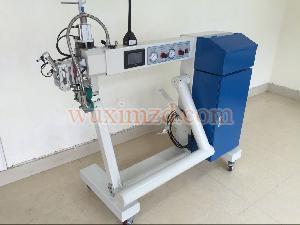 semi-automatic plastic welding machine