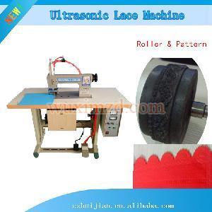 ultrasonic cutting machine lace sewing machine