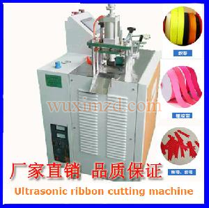 Ultrasonic fabric ribbon tape automatic cutting machine