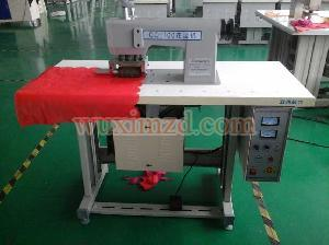 ultrasonic lace sewing machine /Ultrasonic Industrial Lace Sewing Machine for Coloured Flag