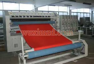 ultrasonic quilting machine for jacket lining making