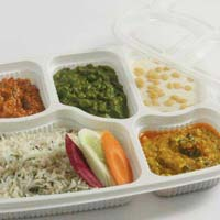 Plastic Disposable Meal Trays With Lid