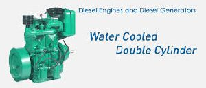 High Speed Water Cooled Double Cylinder