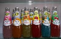 Basil Seed Drink With Different Flavors