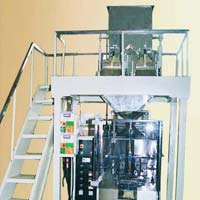 Two Head Loadcell Weigh Filler Machine