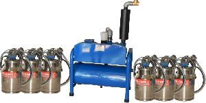Six Buckets Milkwell Milking Machine