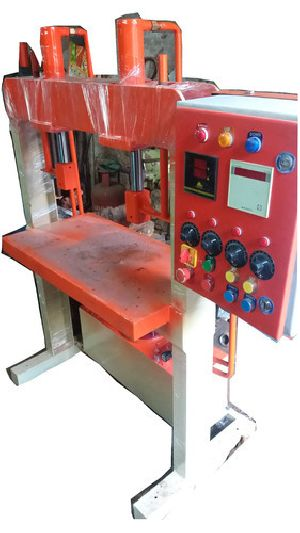 Semi Automatic Hydraulic Double Die Wrinkle Plate Machine