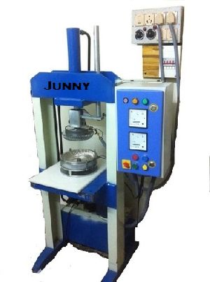 Semi Hydraulic Single Die Wrinkle Plate Machine