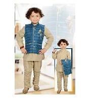 Boys Jacket Kurta Set