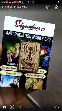 mobile anti radiation gold chip