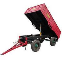 Four Wheel Hydraulic Tractor Trolley