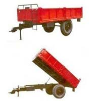 Two Wheeler Mini Tractor Trolley