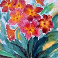 Floral Canvas Paintings