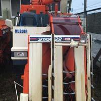 Used Combine Harvester Kubota