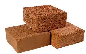Coir Pith Bricks