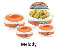 Plastic Insulated Hot Pot Casserole - Melody