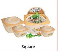Square Plastic Hotpot casserole