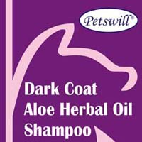 Petswill Dark Coat Aloe Herbal Oil Shampoo