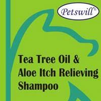 Petswill Tea Tree Oil & Aloe Itch Relieving Shampoo