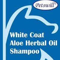 Petswill White Coat Aloe Herbal Oil Shampoo