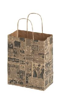 Newsprint Paper Shopping Bags